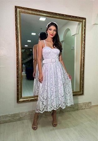 Vestido Margarida Branco