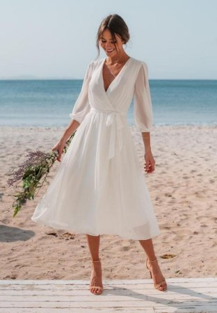 Vestido Fran Off-White