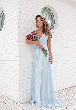 Vestido Elis Azul Serenity