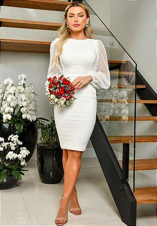 Vestido Agatha Off-White
