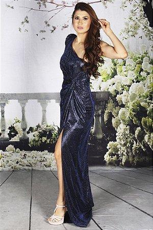 Vestido Angelina Azul Marinho