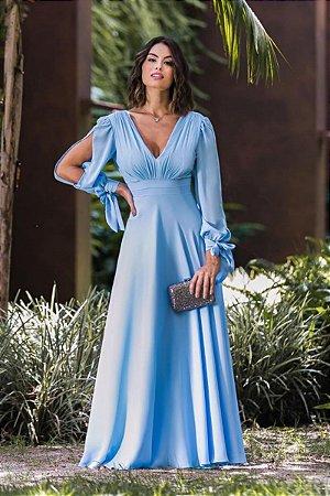 Vestido Catalina Azul Serenity