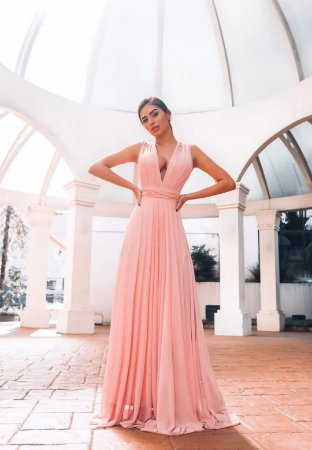 Vestido Grace Rosa