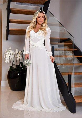 Vestido Marie Off-White