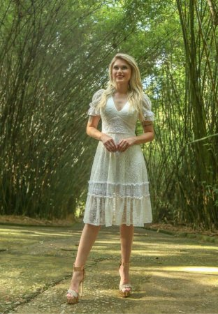 Vestido Cássia Off-White