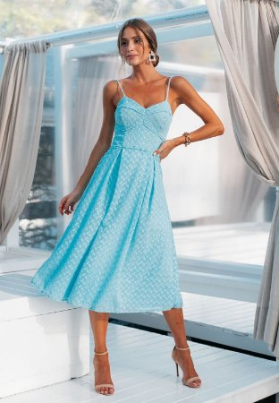 Vestido Maisa Azul Serenity