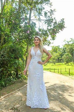 Vestido Lady off white