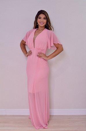 Vestido Leila Rosa