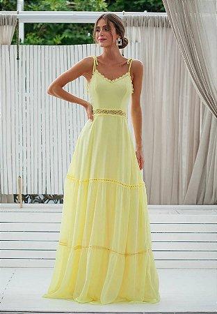 Vestido Sofia Amarelo