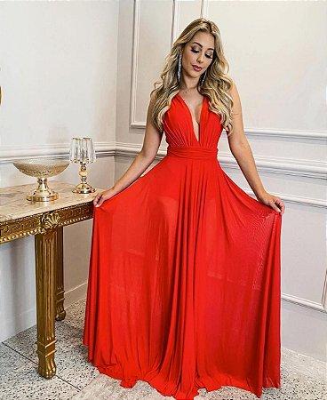 Vestido Grace Vermelho
