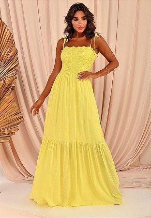 Vestido Lola Amarelo