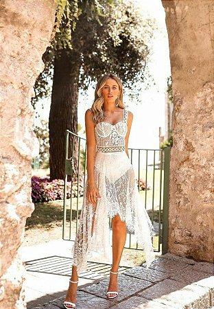 Vestido Eduarda Off White