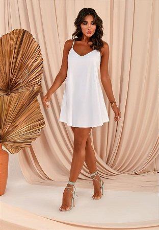 Vestido Cassia Branco