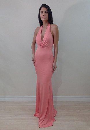 Vestido Débora Coral