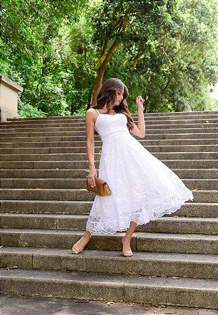 Vestido Eva Off White