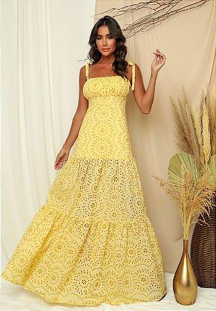 Vestido Lucia Amarelo