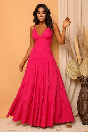 Vestido Mila Fúcsia