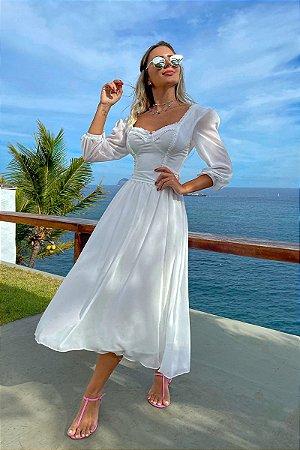 Vestido Dara Off-White