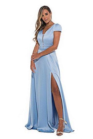 Vestido Célia Azul Serenity