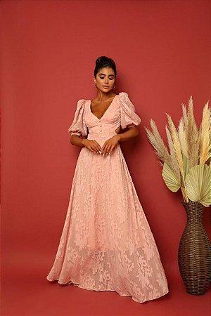 Vestido Brigite Rosa