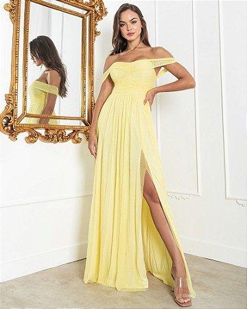 Vestido Munique Amarelo