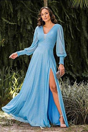 Vestido Scarlet Azul Serenity