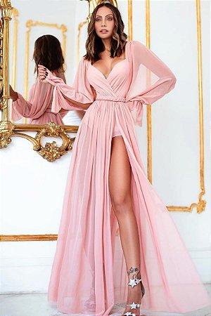 Vestido Suendy Rosa