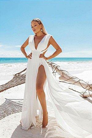 Vestido Amorah Branco