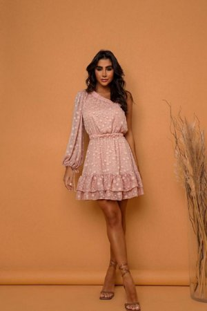 Vestido Fany Rosa