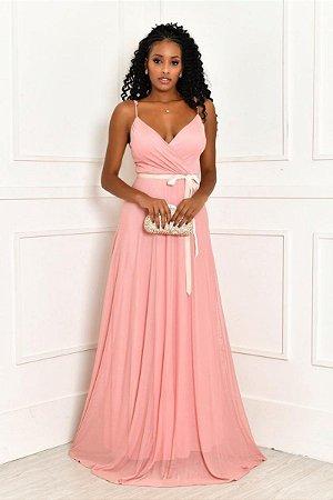 Vestido Clarisse Rosa