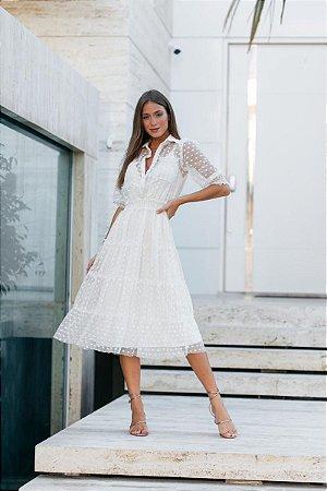 Vestido Zilu Off White