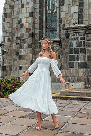 Vestido Ayla Off White