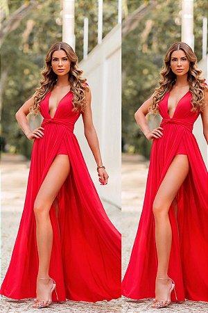 Vestido Poly Vermelho