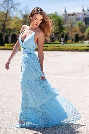 Vestido Ivana Azul serenity
