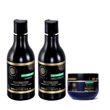 Kit Cachos - Shampoo + Condicionador + Máscara de Tratamento 300gr.