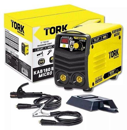 Inversora Kab 180A micro - Bivolt 110/220 Volts Tork