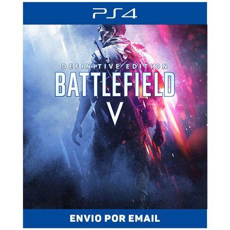 Battlefield V Edição Definitiva - Ps4 Digital