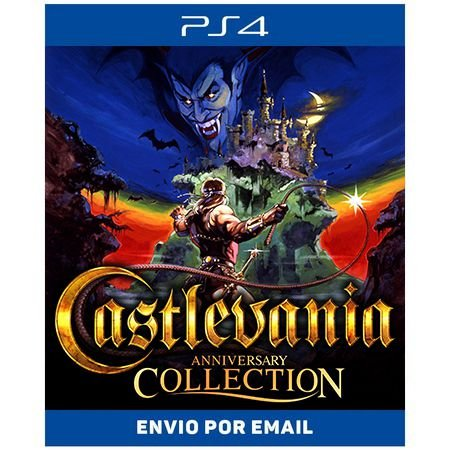 Castlevania Anniversary Collection - Ps4 Digital