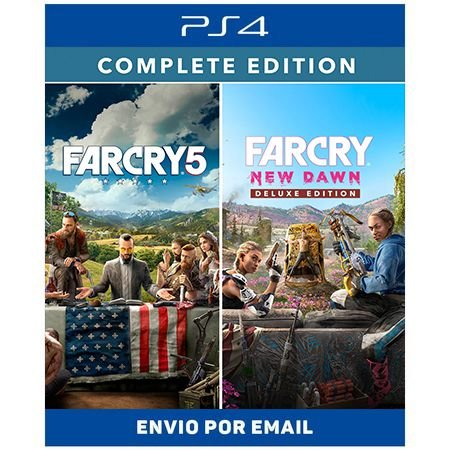 Far Cry New Dawn Complete Edition - Ps4 Digital