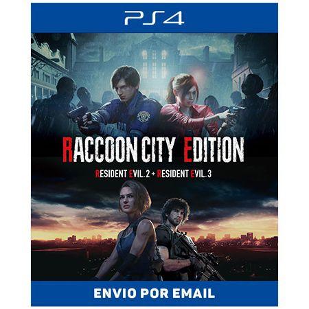 Resident evil RACCOON CITY EDITION - Ps4 e Ps5 Digital