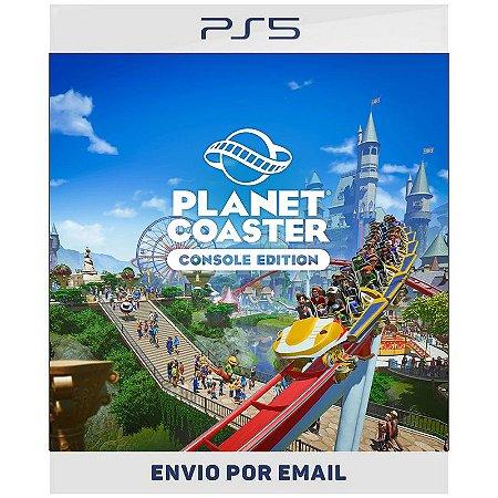 Planet Coaster Edição de Console - Ps4 & Ps5 Digital