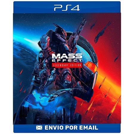 Mass Effect Legendary Edition - PS4 E PS5 Digital