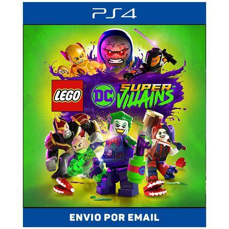 LEGO DC Super Vilões - Ps4 Digital