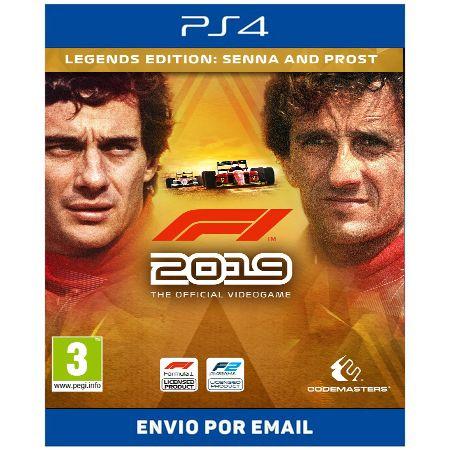 F1 2019 legends edition - Ps4 Digital