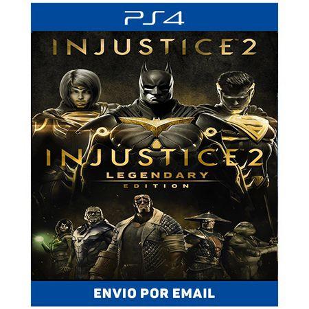 Injustice 2 Legendary edition - Ps4 Digital