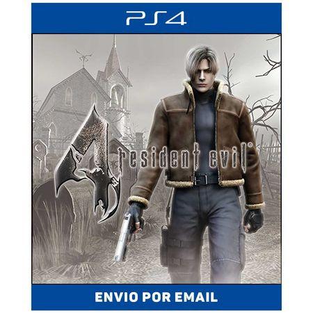 Resident evil 4 - Ps4 e Ps5 Digital