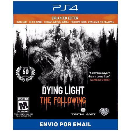 Dying Light: The Following - Edição Aprimorada -Ps4 digital
