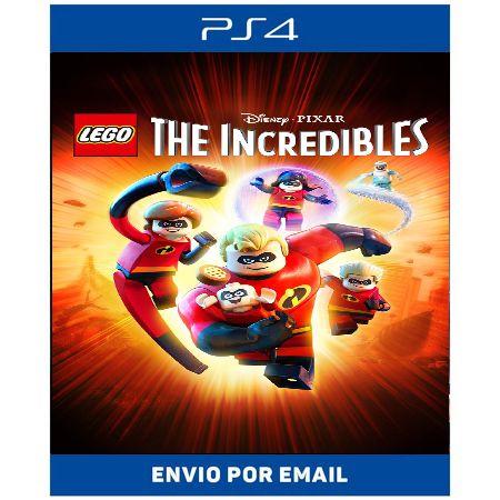 Lego Os incriveis - Ps4 Digital