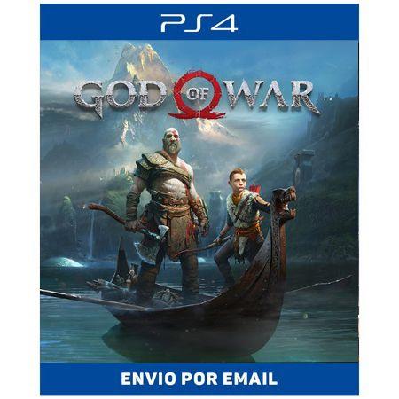 God of war 4 - Ps4 e Ps5 Digital
