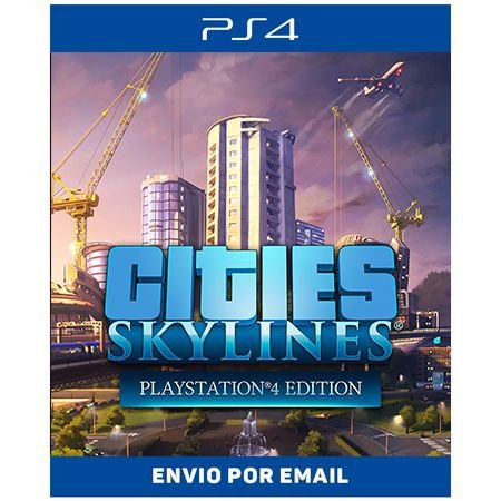 Cities Skylines - Ps4 Digital